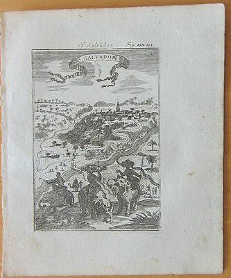 MALLET: Africa Town View St. Salvador - 1718
