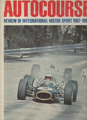 Autocourse  1967 - 68 Signed By Mike Beuttler