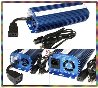 600 WATTS DIMMABLE DIGITAL SWITCH ABLE MH HPS HYDROPONIC BALLAST  600W Max GRow