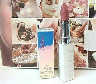 Genuine CDior PEARL SHINE COLLECTION HIGH LUSTER LIPSTICK 662 in Heavenly Pearl