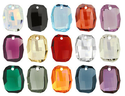 Genuine SWAROVSKI 6685 Graphic Crystals Pendants 19mm * Many Colors