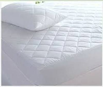 Luxury Quality Egyptian Cotton Quilted Mattress Protector 30cm skirt All Sizes