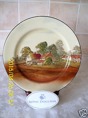 Royal Doulton Seriesware Cabinet Plate - D3647