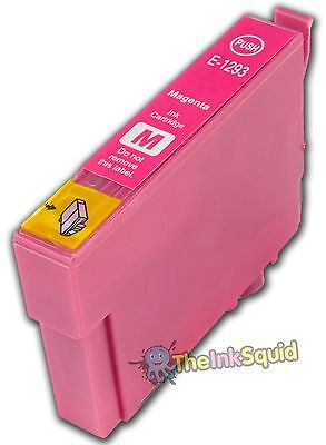 Magenta/Red Ink Cartridge for Epson Stylus (non-oem) Replaces Epson T1293 'Apple