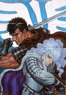 Berserk poster promo Guts and Griffith movie anime big official