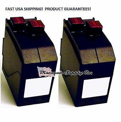 Compatible Two Pack/2pk NeoPost IJINK3456H 4105243U ink IJ35 IJ40 IJ45 IJ50 IJ60