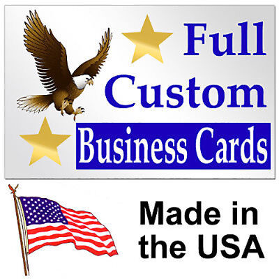 """500 2""""x3.5"""" Custom Personalized Business Cards"""