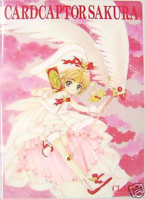 CLAMP CARDCAPTOR SAKURA clear file folder official anime