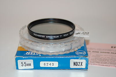 PROMASTER SPECTRUM 7 ND2X 55MM FILTER - JAPAN