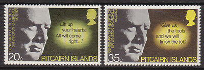 1974 Pitcairn Island Birth Centenary Winston Churchill - MUH