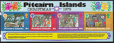 1979 Pitcairn Island Christmas -  MUH Mini Sheet