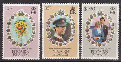 1981 Pitcairn Island Royal Wedding Charles & Diana - MUH