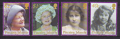 2002 Pitcairn Island Queen Mother Commemoration - MUH