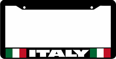CHIAO BELLA ITALY ITALIAN Metal License Plate Frame Tag Holder Two Holes