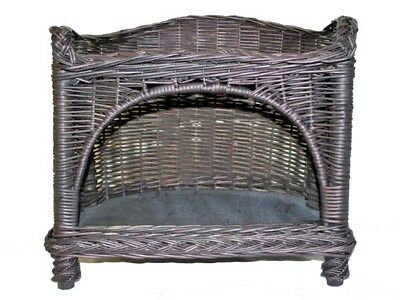 Two tiers wicker pet basket,dog,cat bed,cheapest,2275
