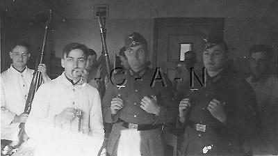 WWWII German Large RP- Soldiers- Rifle- Barracks- 1930s-40s