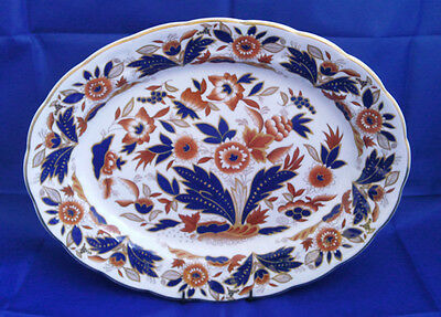 BOOTHS DOVEDALE OVAL SERVING PLATE 35CM X 27CM (PERFECT)