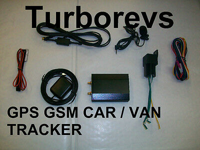 Gps Gsm Tracker Car Van Mpv Universal Remote Engine Cut Off Monitoring Location