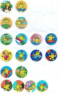 POGS - L-VICO18 01 Lot de 18 Pogs VICO ANIMAGE WPF NEUFS