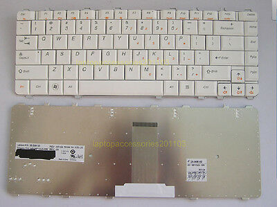 New IBM Lenovo Ideapad Y550 Y450 Y450A Keyboard White US Layout