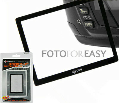 GGS Rigid LCD Screen Protector Glass for Sony NEX-5N NEX-C3 NEX-5C NEX3 NEX5 New