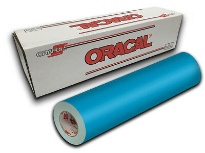 """24"""" X 10ft - Ice Blue Oracal 651 Intermediate Graphic & Sign Cutting Vinyl"""