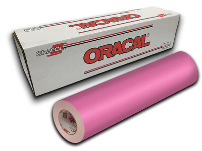 """24"""" X 10ft - Soft Pink Oracal 651 Intermediate Graphic & Sign Cutting Vinyl"""