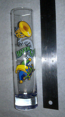 New Orleans Mardi Gras Huge Shot Glass Fat Tuesday Lundi Gras Beads Road Trip