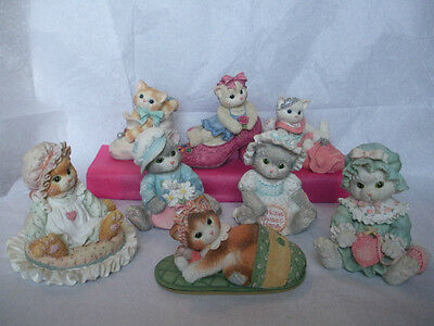 Calico Kittens Collectible Cat Figurines