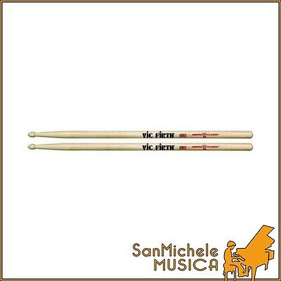 12 PAIA BACCHETTE VIC FIRTH ACL-1A PUNTA IN LEGNO