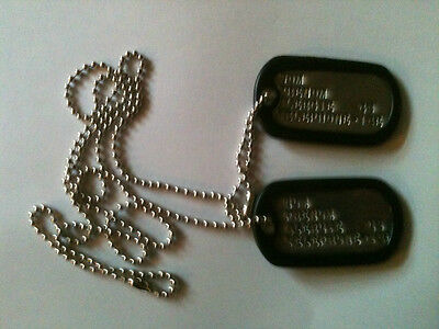 Free engraved US dog tags