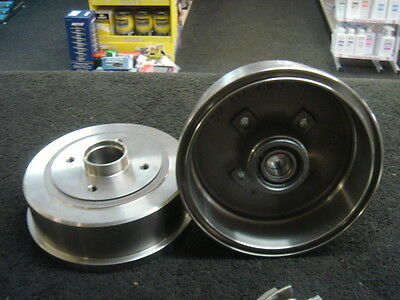 Vauxhall Corsa C Combo 2000-06 2 Rear Brake Drum With Rear Wheel Bearing Fitted