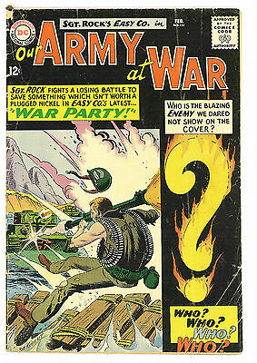 Our Army at War #151, DC Comics 1965 Kubert 1st Enemy Ace G/VG