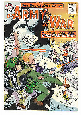 Our Army at War #154, DC Comics 1965 Kubert , Novick VG+