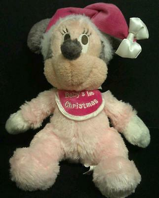 Christmas Minnie Mouse Plush.Baby S First Christmas Minnie Mouse Plush Disney Park
