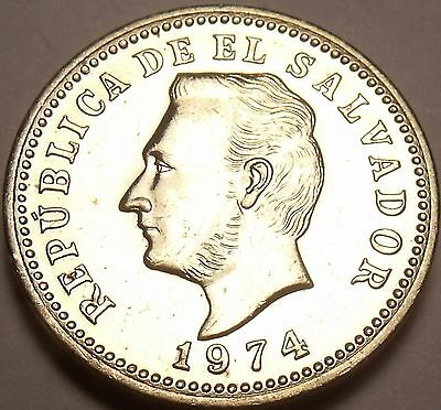 Gem Uncirculated El Salvador 1974 3 Centavos~Only Year Ever Made~Free Shipping