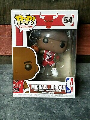 Funko Pop! NBA Michael Jordan #54 Basketball Chicago Bulls Cement III's Mint Box