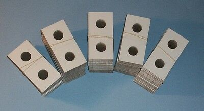 One Hundred (100) Cent Penny Size 2X2 Cardboard/Mylar Coin Holders Flips