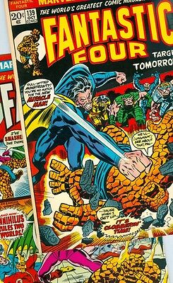 Fantastic Four #139 and #140 F/VF