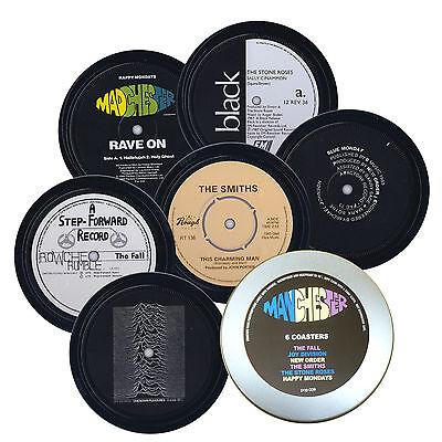The Fall THE SMITHS Joy Division STONE ROSES coasters