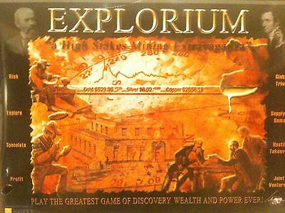 Explorium High Stakes Mining Extravaganza Board Game NIB