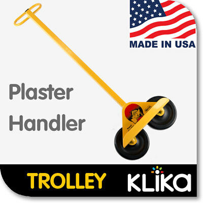 TROLLEY for DRYWALL CHIPBOARD LIFTER PLASTER SHEET PANEL TOOLS LIFT 49