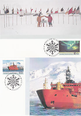 1991 AAT Antarctic Treaty - Maxi Cards (2)