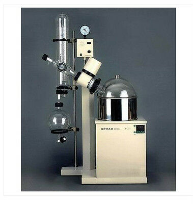 Rotary Evaporator 10L Vertical condenser,rotate& temp digital dispaly 5210A