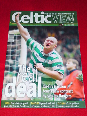 CELTIC VIEW - THE REAL DEAL - Jan 12 2005 Vol 40 # 26