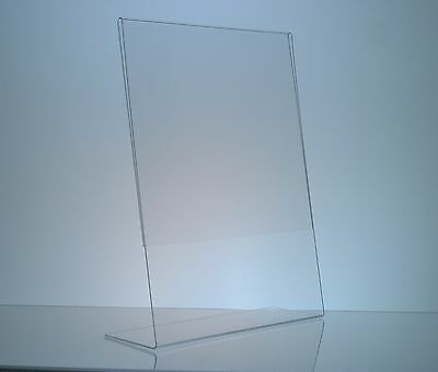 """(100) 5"""" x 7"""" Acrylic Sign Display / Picture Frame"""