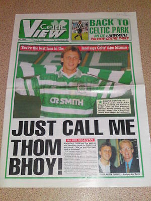 CELTIC VIEW NEWSPAPER - Aug 2 1995 # 1308