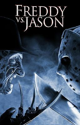 FREDDY VS JASON Movie Poster Horror Nightmare on Elm Street Friday the 13th