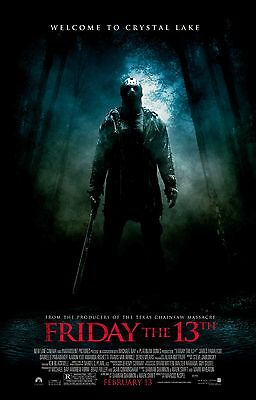 FRIDAY THE 13TH Remake (2009) Movie Poster Horror