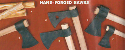 Hand-Forged Hawks,Tomahawk,Throwing Hawk,Mouse,Axe,Hickory Handles,Handle,Camp